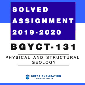 BGYCT-131 Physical and Structural Geology
