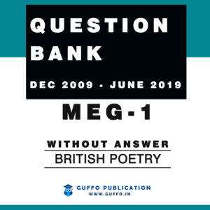 MEG 01 QUESTION BANK WITHOUT ANSWER (DEC 2009 - JUNE 2019 )